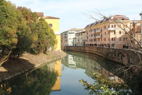 Da Padova a Selvazzano lungo il Bacchiglione ©Minu Vegro
